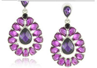Wholesale Colorful Earrings Big Drop Earrings for Women Colors Available E1397