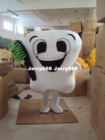 Wholesale Brand New tooth mascot costume party costumes fancy dental care character mascot dress amusement park outfit