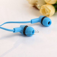 Cheap Wholesale-- 100pcs lot Cheap Colorful IN-047 In-Ear Earphone Best Headphone Lovely Headset for Mp3 Player Phone Computer