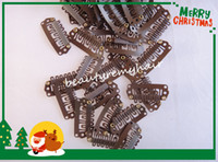 Wholesale Grade5A Snap Clips for Hair Extensions Wig Clips and Combs Hair Weaving Clips cm