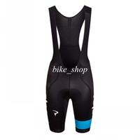 Wholesale Rapha Team Sky Pro Bib Shorts Lightweight Durable Close fitting High performance Lycra Fabric with Award winning Cytech Pad Bib shorts