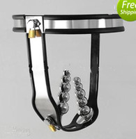 Female Chastiy Belt  Wholesale - Anal plug Vaginal plug chastity belt,female chastity device,chastity belt of anti-masturbation