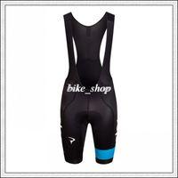 Wholesale Rapha Team Sky Pro Cycling Bib Shorts Durable Close fitting High performance Lycra Fabric with Award winning Cytech Pad Bib shorts