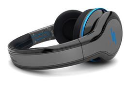 Rue sms via un casque d'oreille en Ligne-Navale gratuite vente chaude SMS Audio SYNC Wired rue par 50 Cent Casque Noir Blanc Bleu Over-Ear Headphones Wired