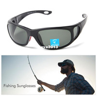 Black Sunglasses Eyewear Wholesale-407-Free dropshipping Plus Case New Fashion Flexible Polarized Lens Sunglasses Brand Designer Men Fishing Glasses Cycling Sports
