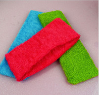 Wholesale Multicolor Cotton Sports Headband Hair Band Bathing Flaxen Hair Ring Jewelry Accessory