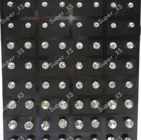 Cheap Stud stainless steel Earrings Best Unisex Alloy pretty Rhinestone Stud