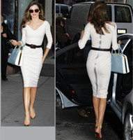 2014 Fashion dress Runway street style bodycon Dress Elegant...