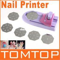 Wholesale By HongKong Post set package DIY Nail Art Printer Pattern Polish Printing Machine Nail Art Stamping Machine