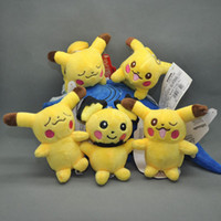 Wholesale Cute Styles Pikachu Plush Doll Toy quot New Trendy Gift For kids birthday gift