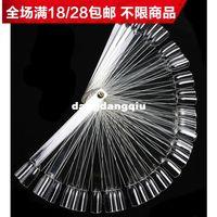 Wholesale Fanghaped nail polish oil display boards color card display tray folding nail art supplies tools