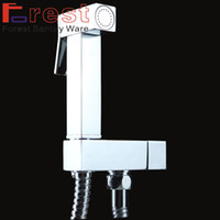 Wholesale copper single hole bathtub mixing valve bidet spray faucet Bidet spray faucet Bidet shower