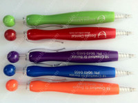 Plastic plastic ball pen - 1000pcs LOGO pen plastic promotional ball pen by Fedex