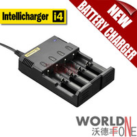 Wholesale FS Nitecore Battery Charger for AA AAA Universal Charger Intellicharger i4 Charger Retail Package WF BC15