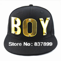 Wholesale Boy London Snapback Acrylic Hats New Fashion Hip Hop Hat Cap Baseball cap for Men amp Boy