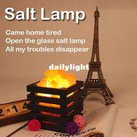 Wholesale High quality cheap The Himalayan Rock Crystal Salt lamp Lbs x10x10cm Free Cord and Bulb salt lamps ligh