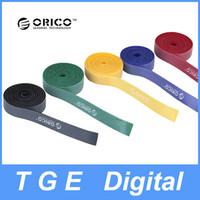 Wholesale 5pcs bag M ORICO CBT S Reusable Rainbow Cable Ties Wire Ties to Organize Cords with Label Management Bands