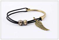 Bronze Men's woven leather bracelet, Bronze Leather bracelet ...