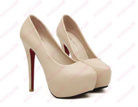 Pumps new model shoes - New Arrival Explosion models in Europe and America cm women s red sole high heels shoes size