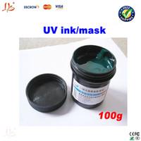Wholesale PCB UV photosensitive inks Green PCB UV curable solder resist ink solder mask UV ink