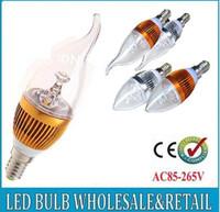 Globe 4w led mr16 - 10pcs w w w w led candle light e14 e27 led bulb lamp tubes Warm White Cool White e14 led v v candle