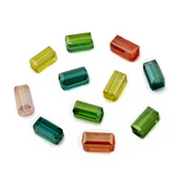 chinese crystal beads - 300pcs Chinese Top Quality Faceted Cut Crystal Glass x8mm Rectangle Cube Beads Spacer Loose Beads Jewelry Findings DIY Material BBA035