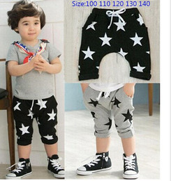 Wholesale 2013 Summer Baby Children Shorts Boys Star Printed Shorts Harem Pants Kids Clothing