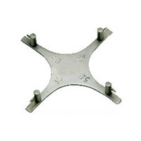 Cheap Dental orthodontic Star-like Bracket Positioning Gauge For Anterior teeth