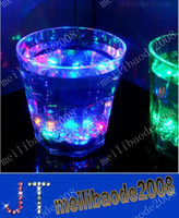 Wholesale Water Activated Color Change Flash Light LED Whisky Shot Glass Cup For Bar Kitchen Club MYY9454