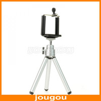 Mini Tripods aluminum video tripod - Mini Tripod Stand Holder For Mobile Cell Phone Camera iPhone g G Samsung Galaxy S2 S4 i9200 I9500
