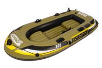 Wholesale FISHMAN person Family inflatable boat fishing Boat Kayak cm a pair cm Oars amp Hand Pump amp Repair Patch
