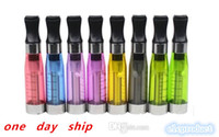 Cheap Wholesale - 1day Ship CE4 Atomizer Colorful ce4 Electronic Cigarette Clearomizer with Long wick 1.6ml adapter suit for all ego-t w battery