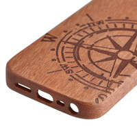 For Apple iPhone apple wood carving - Natural Real Bamboo Wooden CARVED Cover Case for Iphone s S Samsung S3 S4 S5 Note2 back wood Case