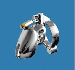 Wholesale Latest Small Size Male stainless steel Cock Cage M900 Chastity Belt Art Device BDSM Sex toys size for ring