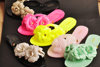 Wholesale 2014 New fashion melissa slippers thong sandal lx002