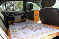 Wholesale Car travel bed inflatable rear seat cushion car driving supplies
