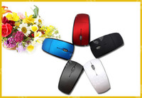 Wholesale Optical usb wireless Mouse Ghz mini Snap in Transceiver Arc Foldable mice for PC Laptop Computer touchpad free UPS Factory price