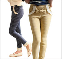 Wholesale Big Children s Clothes Fall New Panty Girl Pencil Pants Kid s Casual Pants Manufacturers Selling Feet Pants Trouse GX725