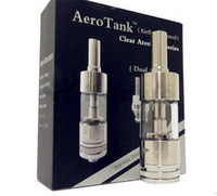 Replaceable 2.5ml Metal aerotank Atomizer Protank Clearomizer Rebuildable Aero tank 2.5ml Dual Coil Atomizer Pyrex Glass