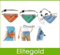 Wholesale Running Waist Pack Close Fitting Portable Money Belt Waist Purse Cyclist Waist Bag Travel Bag Cyclist Storage Bag Colors