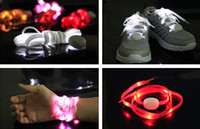 Cheap nylon led Shoelaces Best   led belt