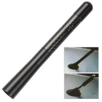 Wholesale Black Aluminum Carbon Fiber cm Length Car Antenna for AM FM Radio Signal CEC_635
