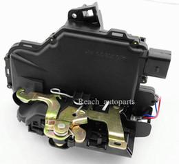 Wholesale 100 Brand Door Lock Actuator Rear Left Passenger Side LH Fit For VW Jetta Golf MK4 GTI Bora Beelte Polo B1 A AC CG