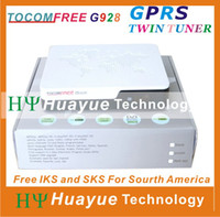 Wholesale TOCOMFREE G928 with IKS gprs Open Amazonas61W and Star One C2 KU W Pay channel better than azbox bravissimo duosat
