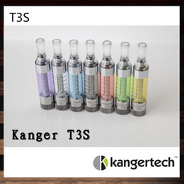 Kangertech T3S Clearomizer Kanger T3S Colorful Atomizer Kanger T3S Cartomizer With Changeable Coil