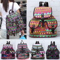 Wholesale Women s Floral Bookbag Travel Rucksack School Bag Satchel Canvas Backpack CA05042