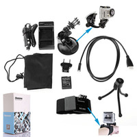 Wholesale New Dazzne in KT Home Use Camera Triod Adapter Accessory Kit Bag High Quality For GOPRO Hero W0037A
