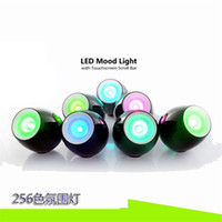 Wholesale 256 Color Changing Night Light Desk Lamp Touchscreen Led Mood Light Rechargeable Holiday Lighting LED Night Light Cool Sleep Light Baby Care