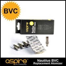 Wholesale Authentic Aspire Nautilus Atomizer Heads BVC Coil Head Ego Nautilus Atomization Core