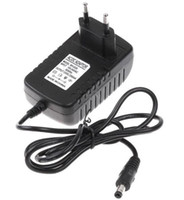 Wholesale DHL Freeshipping AC V V to DC V A mm x mm Plug Converter Wall Charger Power Supply Adapter EU US UK plug MQ50
